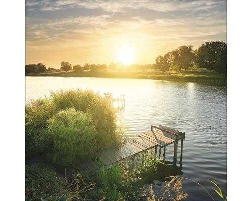 Sklenený obraz Lonely Lake I 30x30 cm