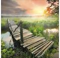 Sklenený obraz Lonely Lake III 30x30 cm