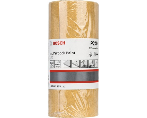 Brúsny papier Bosch 115x5000 mm G240, rolka