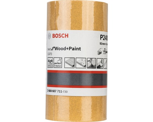 Brúsny papier Bosch 93x5000 mm G240, rolka
