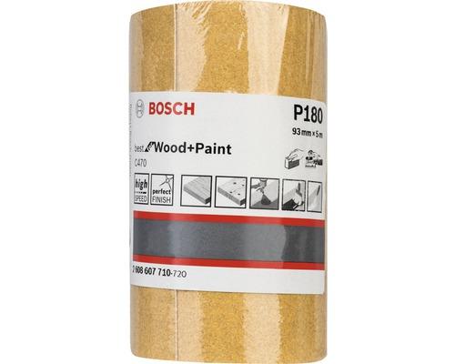 Brúsny papier Bosch 93x5000 mm G180, rolka