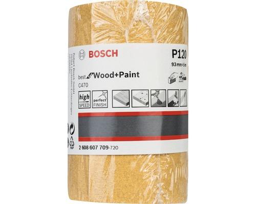 Brúsny papier Bosch 93x5000 mm G120, rolka