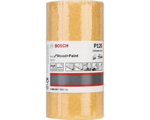 Brúsny papier Bosch 115x5000 mm G120, rolka