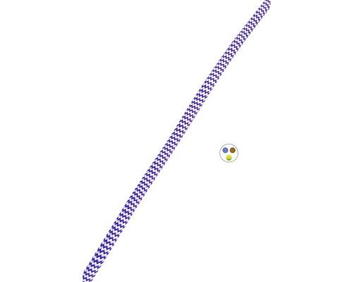 Textilný kábel 3x0,75 zigzag, metrážový sortiment