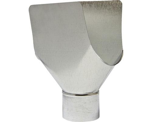 Kovové pripojenie pre žľab PRECIT Ø 125/76 mm