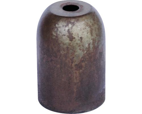 Kryt objímky kovový tubus hnedý