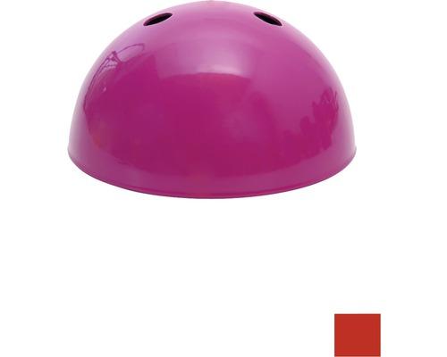 Baldachýn kovový, 100 mm, červený