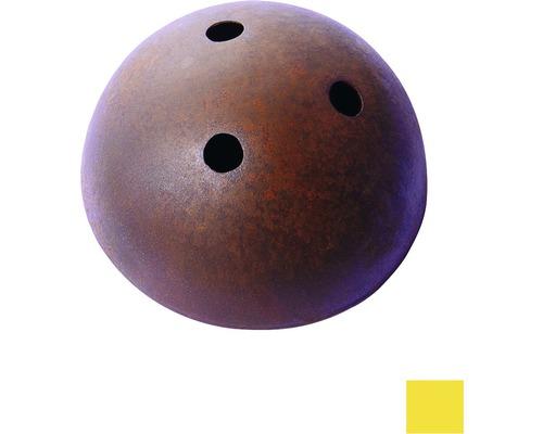 Baldachýn kovový 100mm, žltý