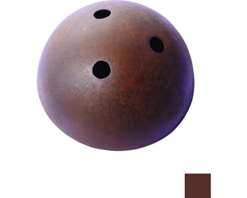 Baldachýn kovový 100mm, hnedý