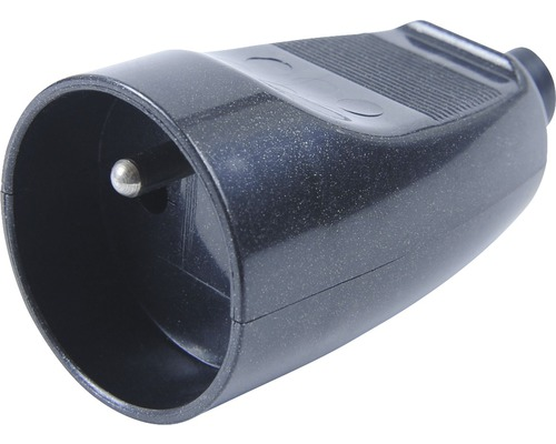 Spojovacia zásuvka čierna