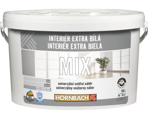 Farba Hornbach Interiér Extra Biela 10 l, báza A