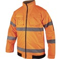 Reflexná bunda HOWARD oranžová XL