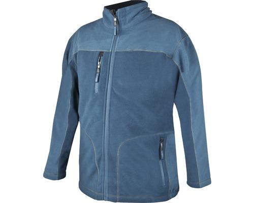 Mikina fleece MICHAEL pánská L, modrá