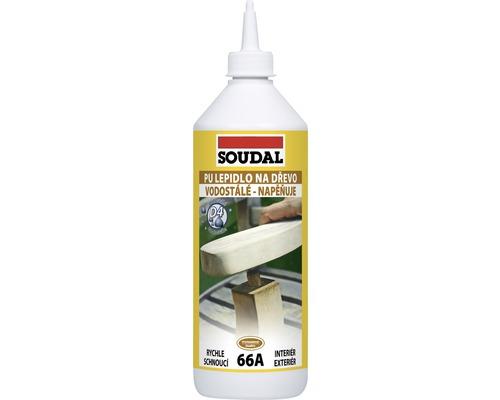 Lepidlo na drevo Soudal 66A polyuretánové 250 g