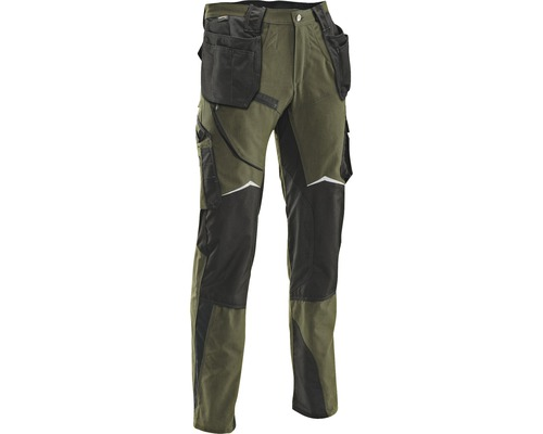 Pracovné nohavice HAMMER WORKWEAR veľkosť 32/34 olivová