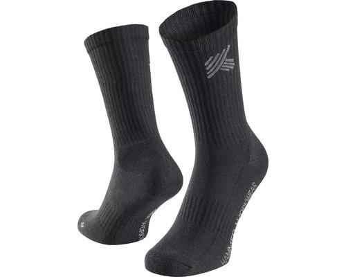 Pracovné ponožky HAMMER WORKWEAR čierne, 5 ks, veľkosť 43-46