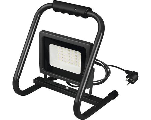 LED pracovný reflektor SMD Handy 30W 2700lm 4000K šedý, prenosný