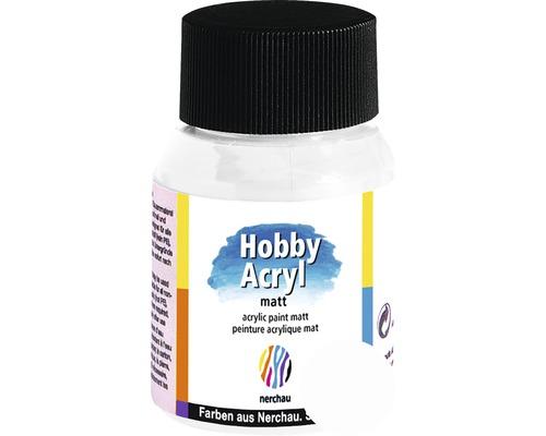 Akrylová farba Hobby Acryl matt biela 59 ml