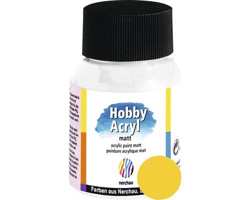 Akrylová farba Hobby Acryl matt zlatožltá 59 ml