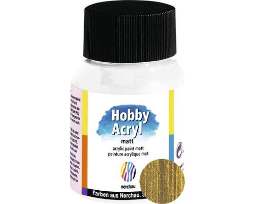 Akrylová farba Hobby Acryl matt zlatá 59 ml