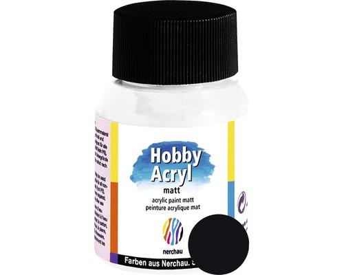 Akrylová farba Hobby Acryl matt čierna 59 ml