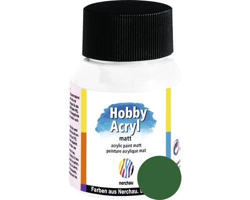 Akrylová farba Hobby Acryl matt tmavo zelená 59 ml