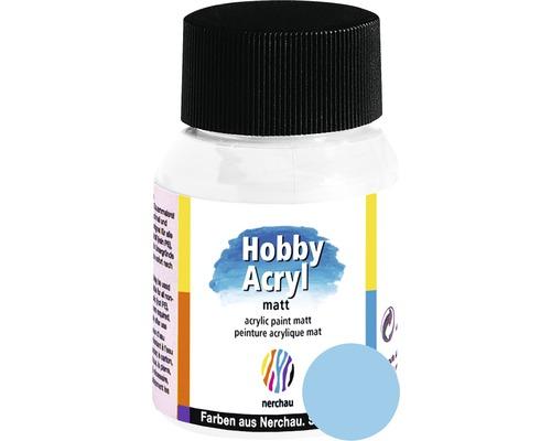Akrylová farba Hobby Acryl matt pastelovo modrá 59 ml