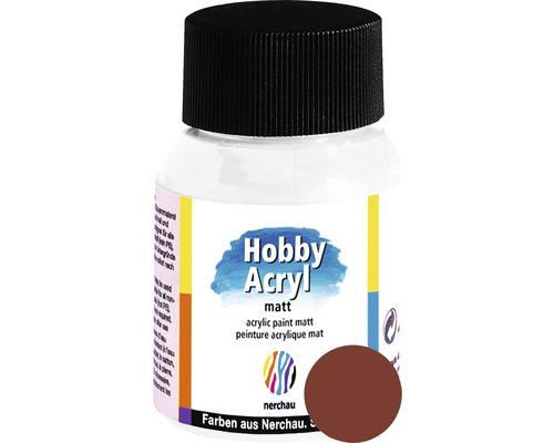 Akrylová farba Hobby Acryl matt hnedá 59 ml