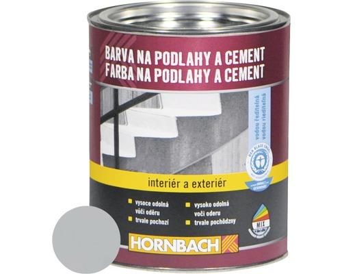 Farba na betón Hornbach stredne tmavosivá, hodvábne lesklá 750 ml