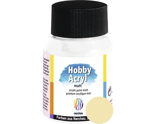 Akrylová farba Hobby Acryl matt žltá 59 ml