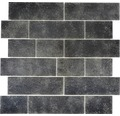 Sklenená mozaika LOFT 49LF 30x30 cm čierna
