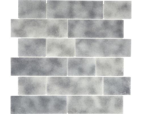 Sklenená mozaika LOFT 59LF 30x30 cm sivá