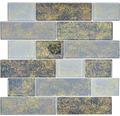 Sklenená mozaika LOFT 69LF 30x30 cm čierna
