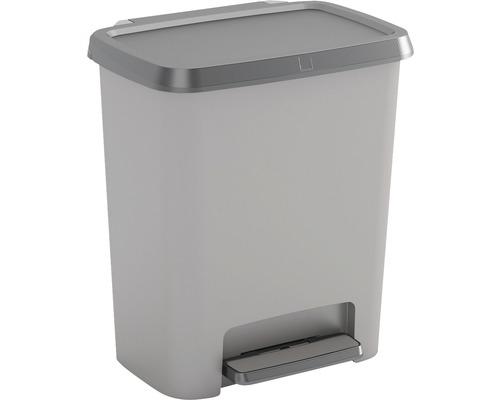 Odpadkový kôšCopmpatta, sivý, 25 l