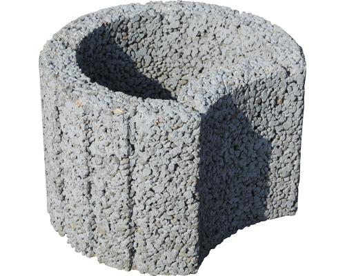 Svahová tvárnica 20x30 cm, sivá