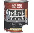 Farba na kov 3v1 Hornbach biela, matná 250 ml