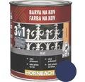 Farba na kov 3v1 Hornbach modrá, lesklá 250 ml