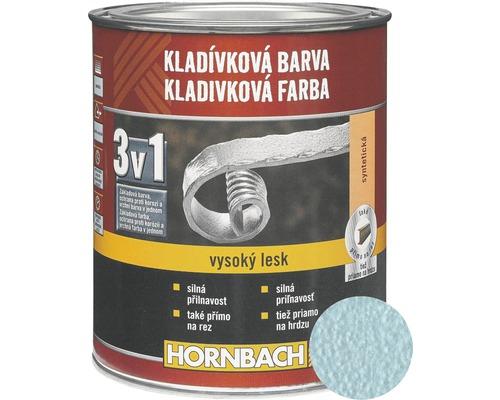 Kladivková farba na kov 3v1 briliant modrá lesklá 750 ml