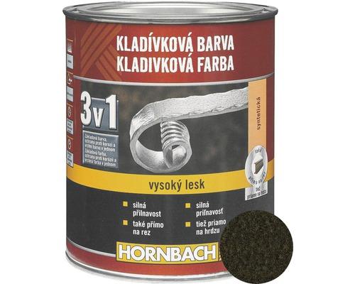 Kladivková farba na kov 3v1 čierna lesklá 2,5 l