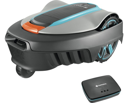Robotická kosačka GARDENA Smart Sileno City 450 sada vr. smart gateway