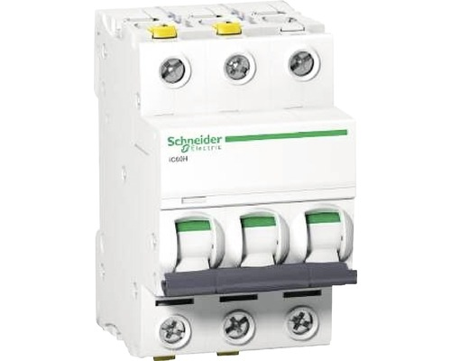 Istič Schneider Electric 3P, B, 32A, iC60H, 10KA