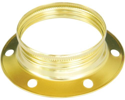 Krúžok k objímke zlatý E27