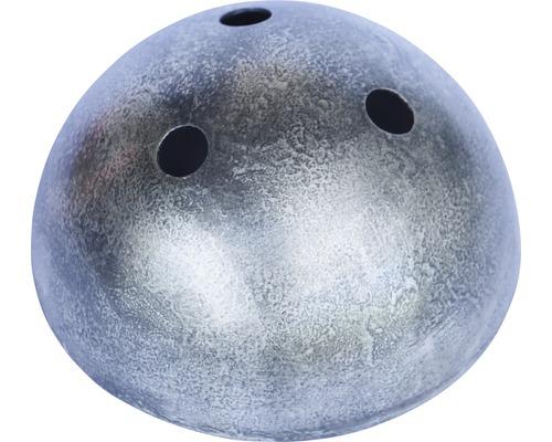 Baldachýn kovový patina starostrieborná Ø 100 mm