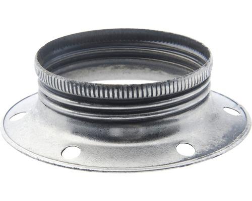 Krúžok na objímku strieborný E27