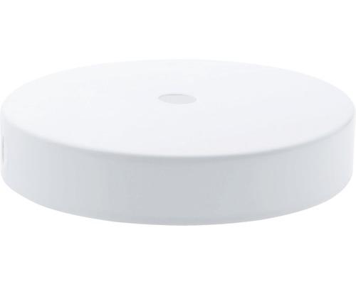 Baldachýn plochý biely 95 mm