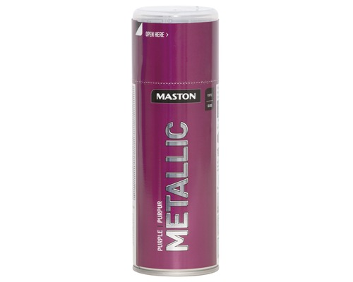 Farba v spreji Metallic Maston purpurová 400 ml