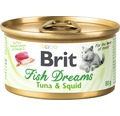 Konzerva pre mačky Brit Fish Dreams Tuna & Squid 80g