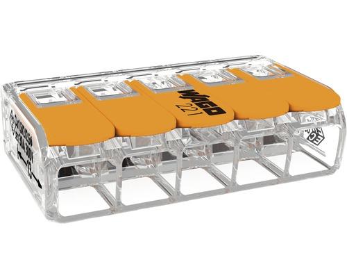 WAGO svorka 5x0,5-6 mm² 3 kusy v balení
