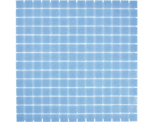 Sklenená mozaika GMA30 uni modrá 30,5x30,5 cm