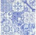 Sklenená mozaika XCM8OP33 Crystal Design modrá/biela 30x30 cm